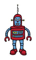 Spoed Foto op Canvas Robots Baby Robot