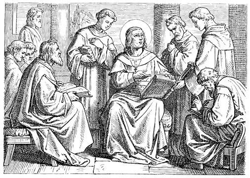 Augustine of Hippo, church school