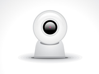 abstract glossy webcamera icon