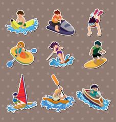 water sport stickers