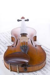 Fototapeta skrzypce obraz
