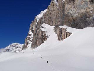 Ski de randonnée au pied de la Granta Parei