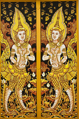 thai painting art .