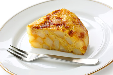 tortilla, spanish potato omelet