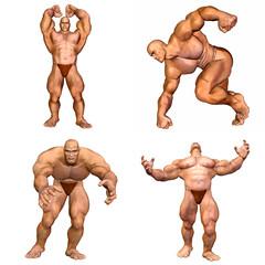 Muscular Men Pack - 2of2