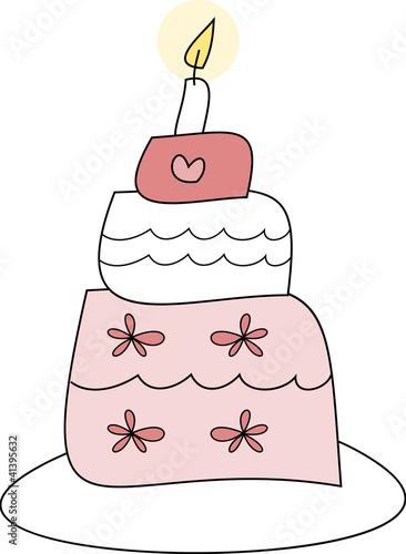 Witzige Hochzeitstorte In Pink Stockfotos Und Lizenzfreie Vektoren
