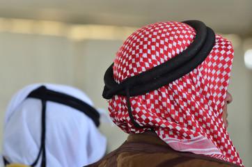 Bedouin Arab Men - Traditional Kufeyas