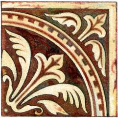 Romance ceramic tile (France)
