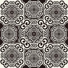 decorative repeating arabesque, ornamental vector backdrop
