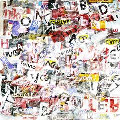 Fotobehang Kranten Grunge textured background