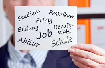 Bildung - Ausbildung - Job