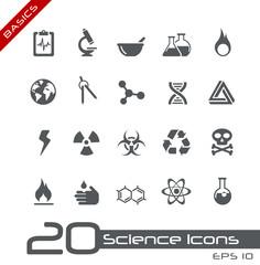 Science Icons // Basics