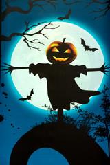 Halloween Kürbiskopf