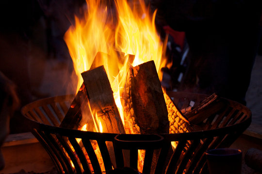 Lagerfeuer Detail
