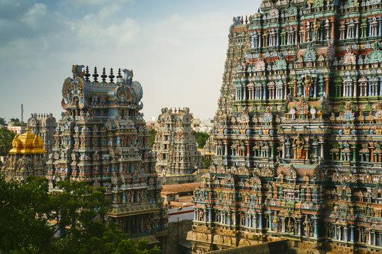 Madurai, Meenakshi Temple, Tamil Nadu, India