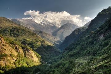 dolina, nepal