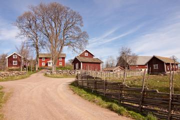Houses an denvironment in Sweden.