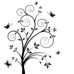 Floral vector tree