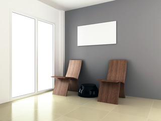 3d rendering for room interior design