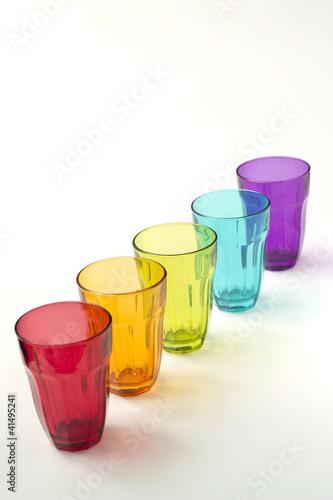 Bicchieri colorati immagini e fotografie royalty free su for Bicchieri colorati