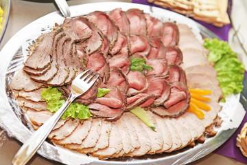 Roastbeef Platte