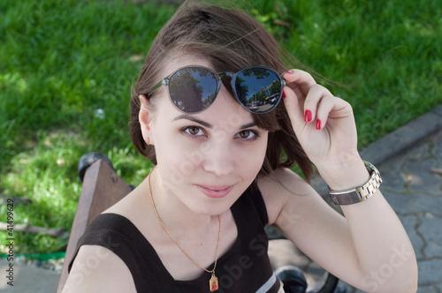 личное фото молодой девушки