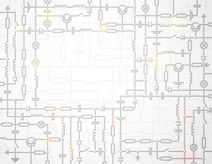 The electric scheme