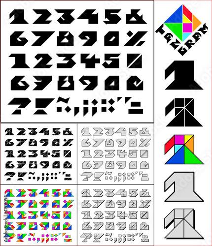 41511054 on Tangram Alphabet S T