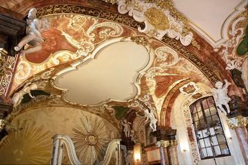 Obraz Barokowe sklepienie - fototapety do salonu