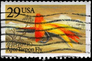 USA - CIRCA 1991 Apte Tarpon Fly