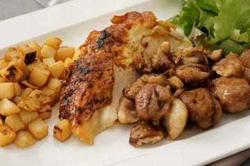 poulet aux marrons 9