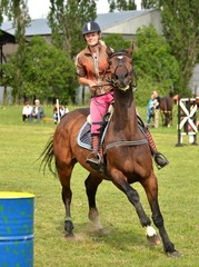rider show jumping