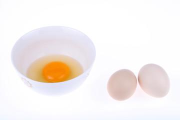 打开的鸡蛋