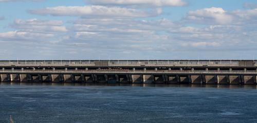The dam, Balakovo