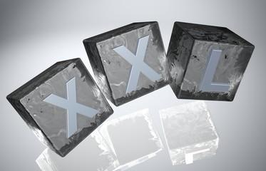 3D Fallende Wuerfel - XXL XIII