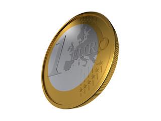 pièce de un euro 2