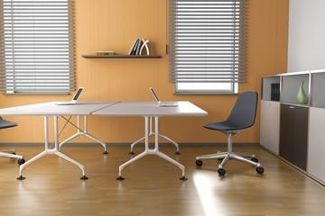 Büro - Büroidee - Orange