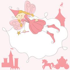 Fairy Princess Invitation card