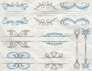 decorative vintage frame,vector