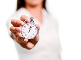 concept temps focus sur le chronomète