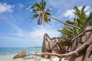 Beach of La Digue - Seychelles - Africa