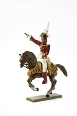 Toy horseman
