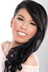 Portrait einer jungen asiatischen Frau