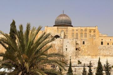 the walls of ancient Jerusalem
