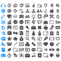 Business Icons collection different signs.