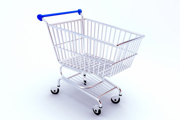 Shopping Push Cart