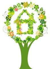 House Tree Symbol