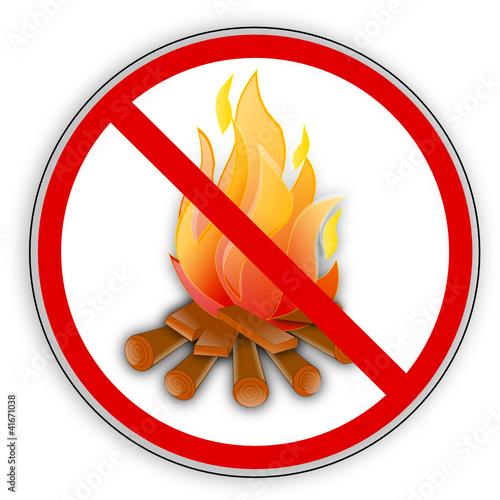 verbotsschild rauchen feuer offenes licht verboten. Black Bedroom Furniture Sets. Home Design Ideas