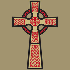 Vector Classic Celtic Cross
