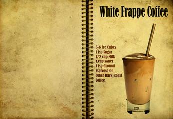White Frappe Coffee recipe